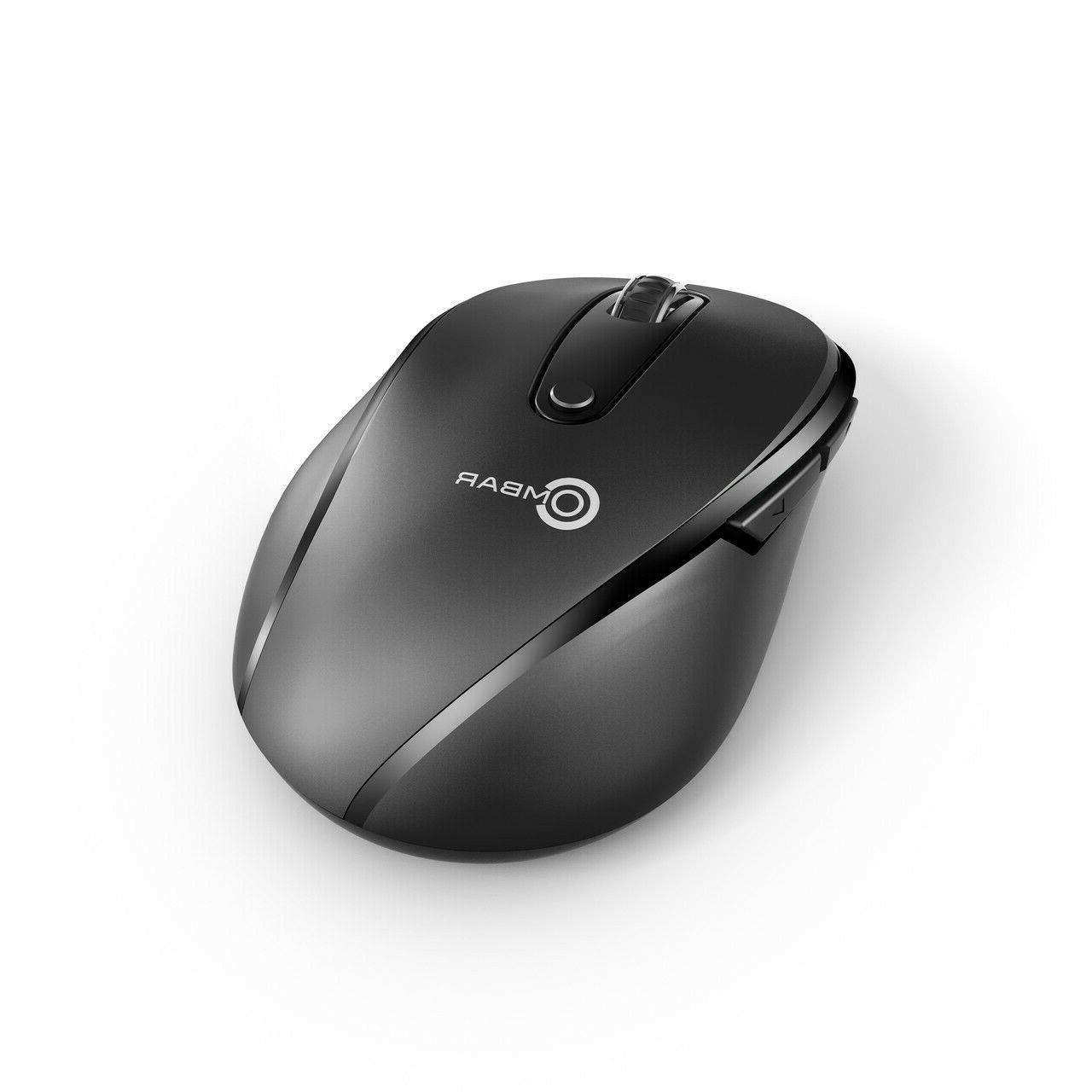 2.4GHZ Buttons Wireless Mouse for OS Tablets