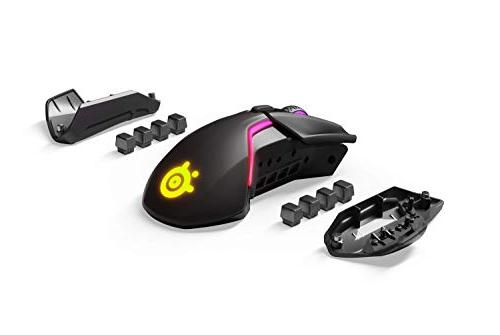 SteelSeries Quantum Wireless Gaming Mouse - Rapid 12,000 CPI Optical - 0.5 Lift-off - 256 8 RGB