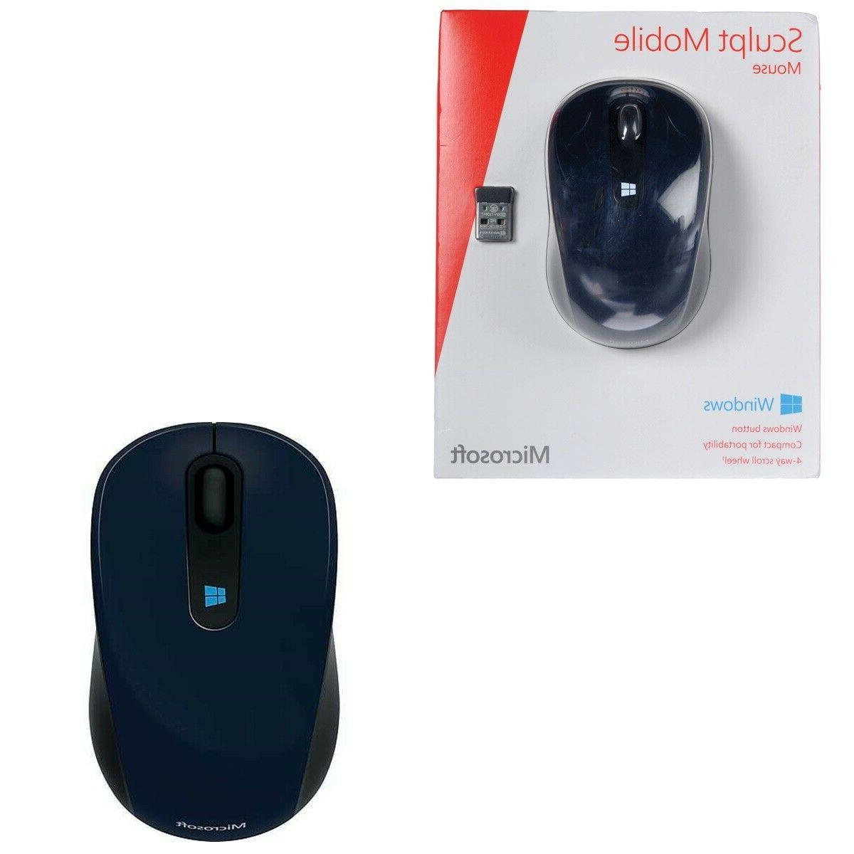 sculpt mobile mouse wireless cordless usb receiver