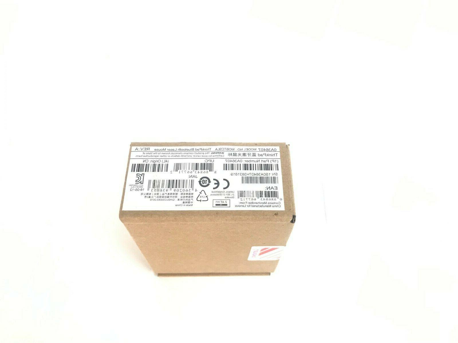 Lenovo Bluetooth Mouse 03X6582