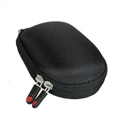 travel eva case fits amazonbasics wireless mouse