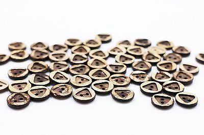 Triangle Shell Buttons