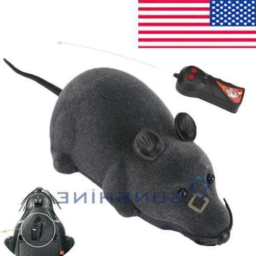 Wireless Remote Control RC Rat Electronic Mouse For Cat Dog