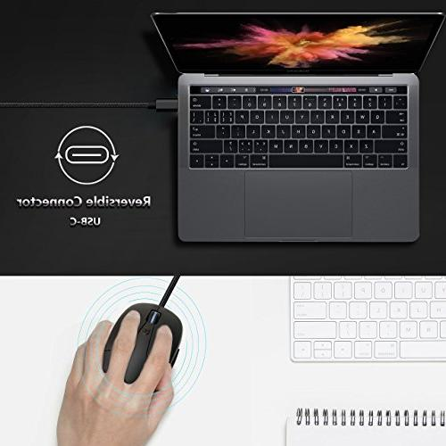 USB C Mouse, Type for MacBook MacBook 12-Inch, Pro, XPS, Chromebook, Windows
