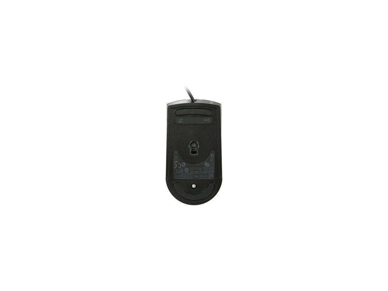 Lenovo USB Wired Mouse Buttons Wheel 06P4069