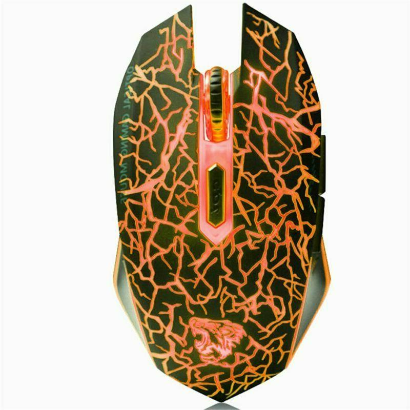 VEGCOO Wireless Mouse Mice 7 Colors L