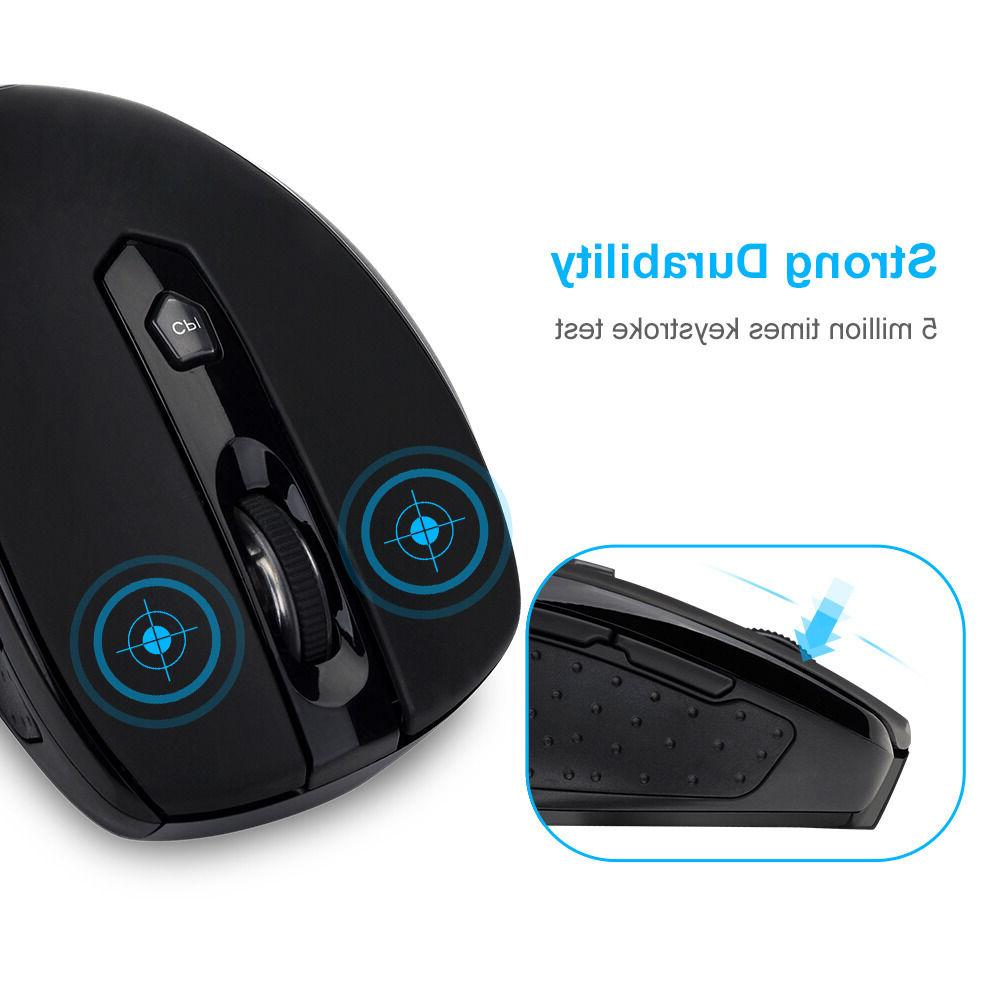 VicTsing Wireless Mobile Mouse Buttons
