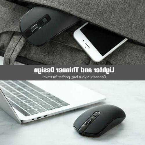VicTsing 2.4G Wireless Mouse USB + C PC