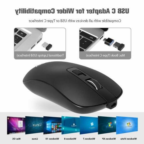 VicTsing Mouse USB + C Mice PC