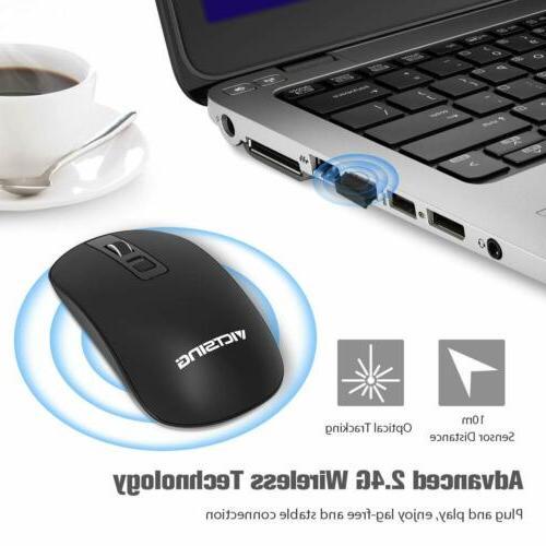 VicTsing 2.4G Wireless Mouse C Slim PC