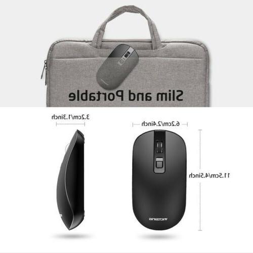VicTsing Slim Mouse USB Black
