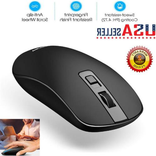 victsing slim 2 4ghz wireless mouse usb