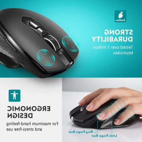 Victsing Mouse Nano USB CPI for PC Mac Laptop