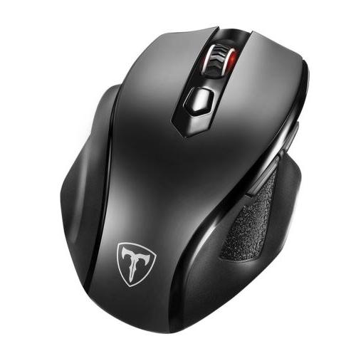 victsing wireless mouse w nano usb receiver