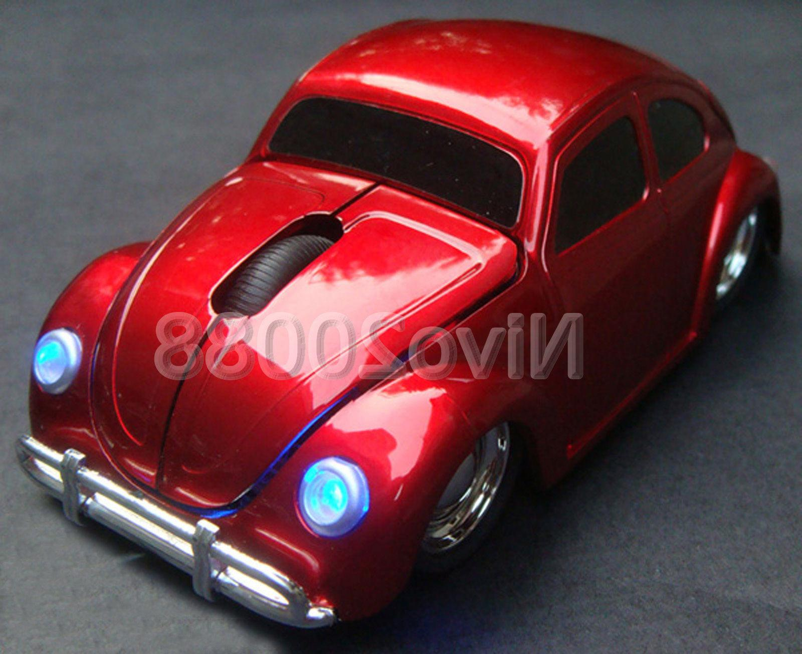 VW Beetle Computer Mice + USB Receiver