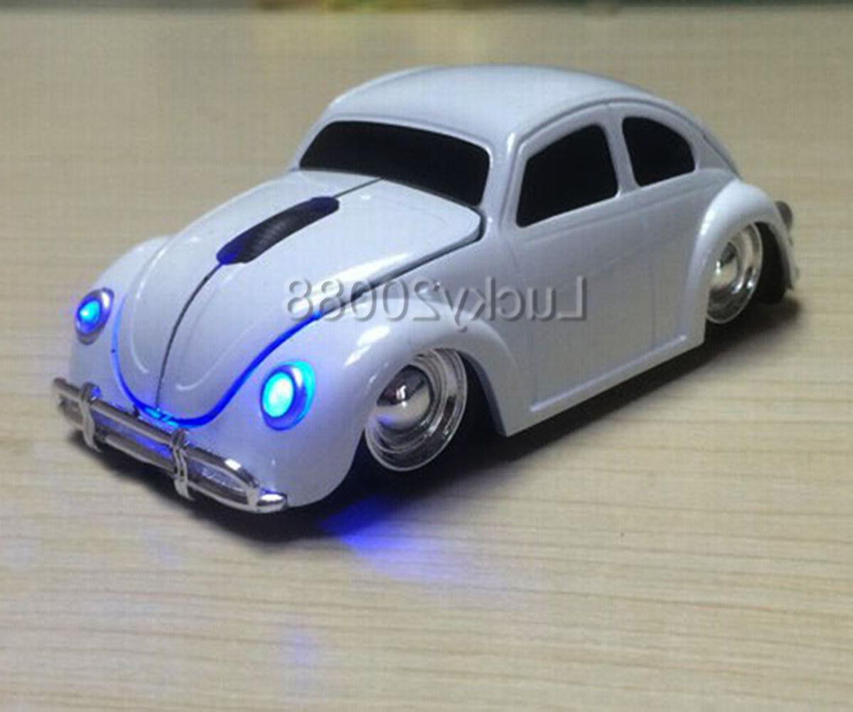 VW Beetle wireless Mouse Computer + Receiver