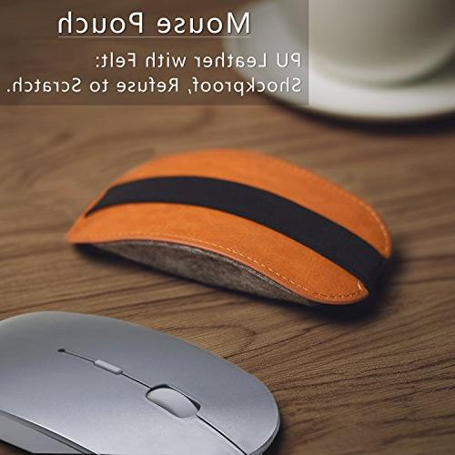 Bluetooth Wireless Mouse Tsmine Gaming Mute Mice for