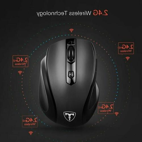 VicTsing Mouse Optical Mice + USB Laptop MAC