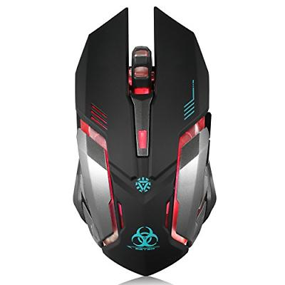 wireless gaming mouse c8 silent click wireless