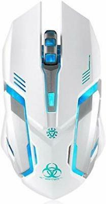 wireless gaming mouse vegcoo c8 silent click