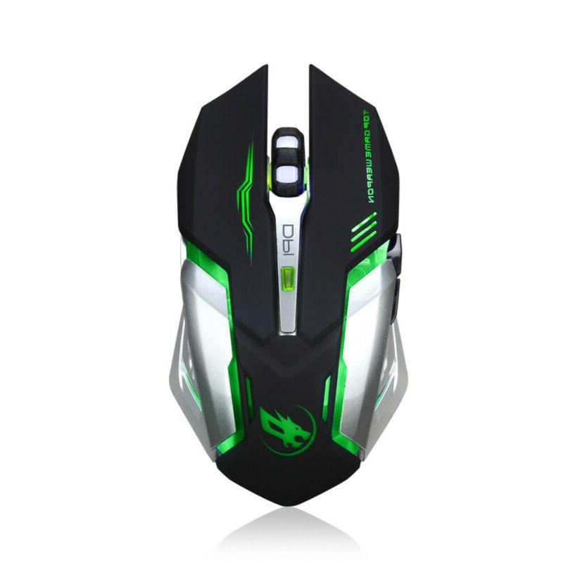 Wireless Gaming Unique Silent Optical 2400 for PC