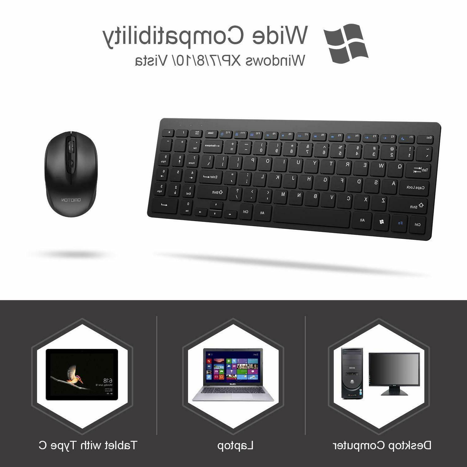 Wireless and Mouse Combo Laptop PC