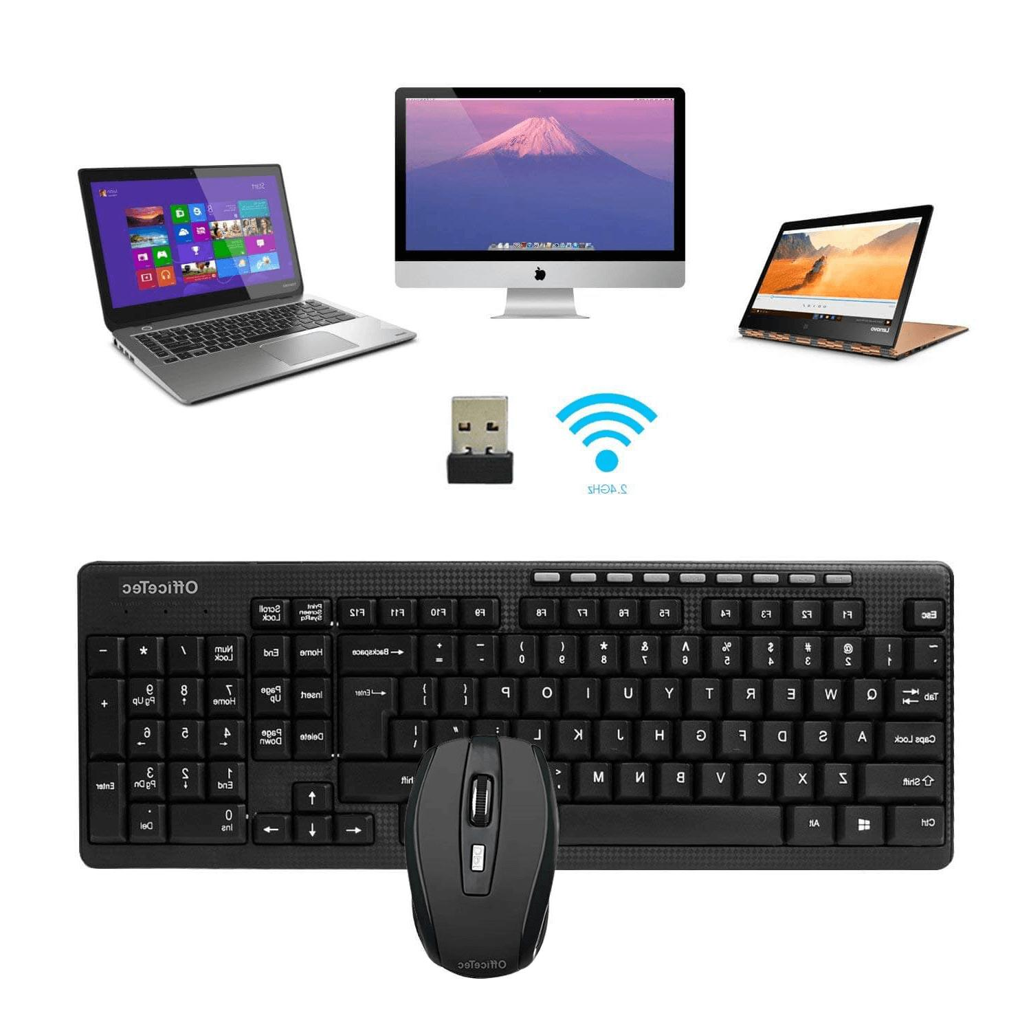 Wireless Mouse Combo Desktop Computer