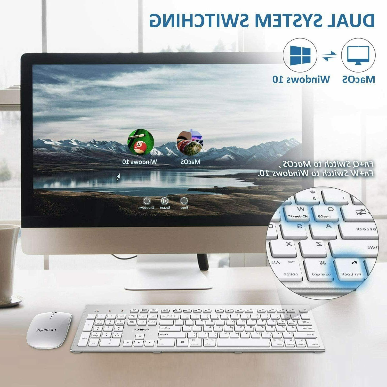 Wireless Keyboard&Mouse,Full-Size
