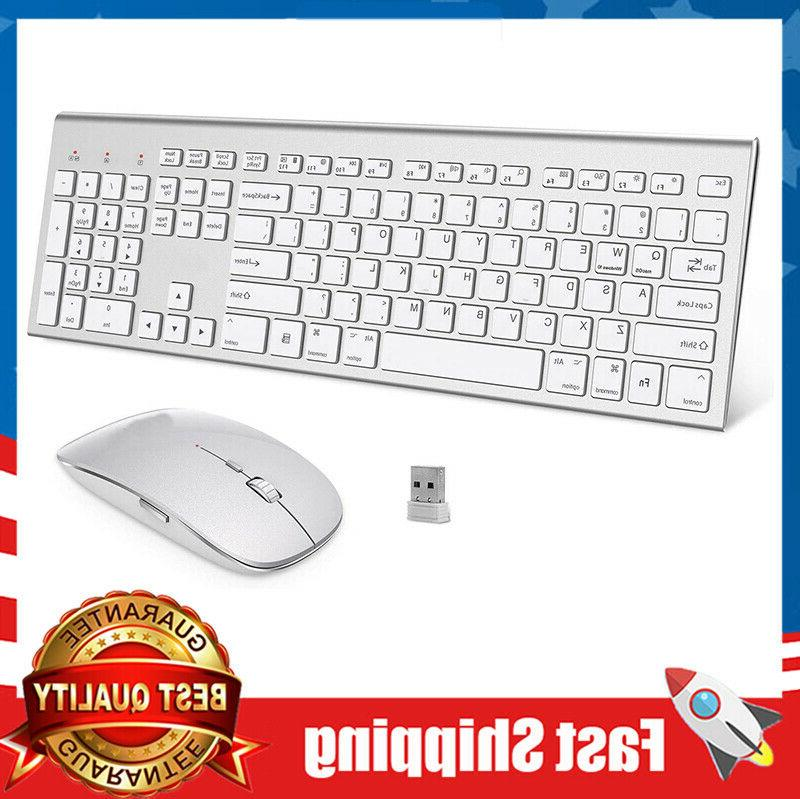 wireless keyboard and mouse full size whisper