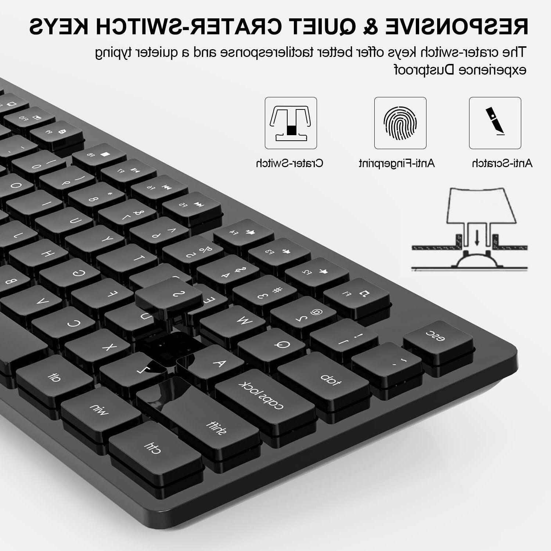 Wireless Full-Size Wireless Keyboard