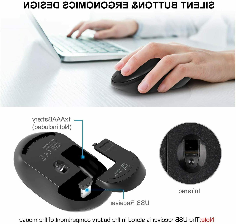 Wireless Keyboard Full-Size Wireless Keyboard Combo,2.4GHz