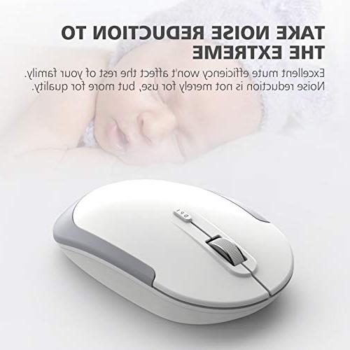 iClever Keyboard and - 2.4G Mouse, Ergonomic Design Size Thin Stable DPI,