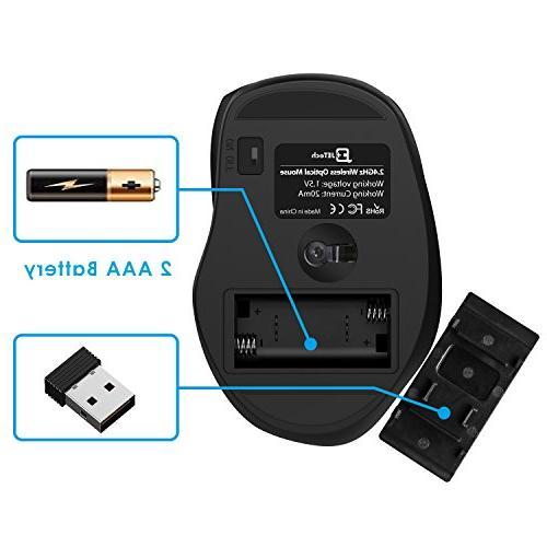 JETech Optical Mouse Battery Life