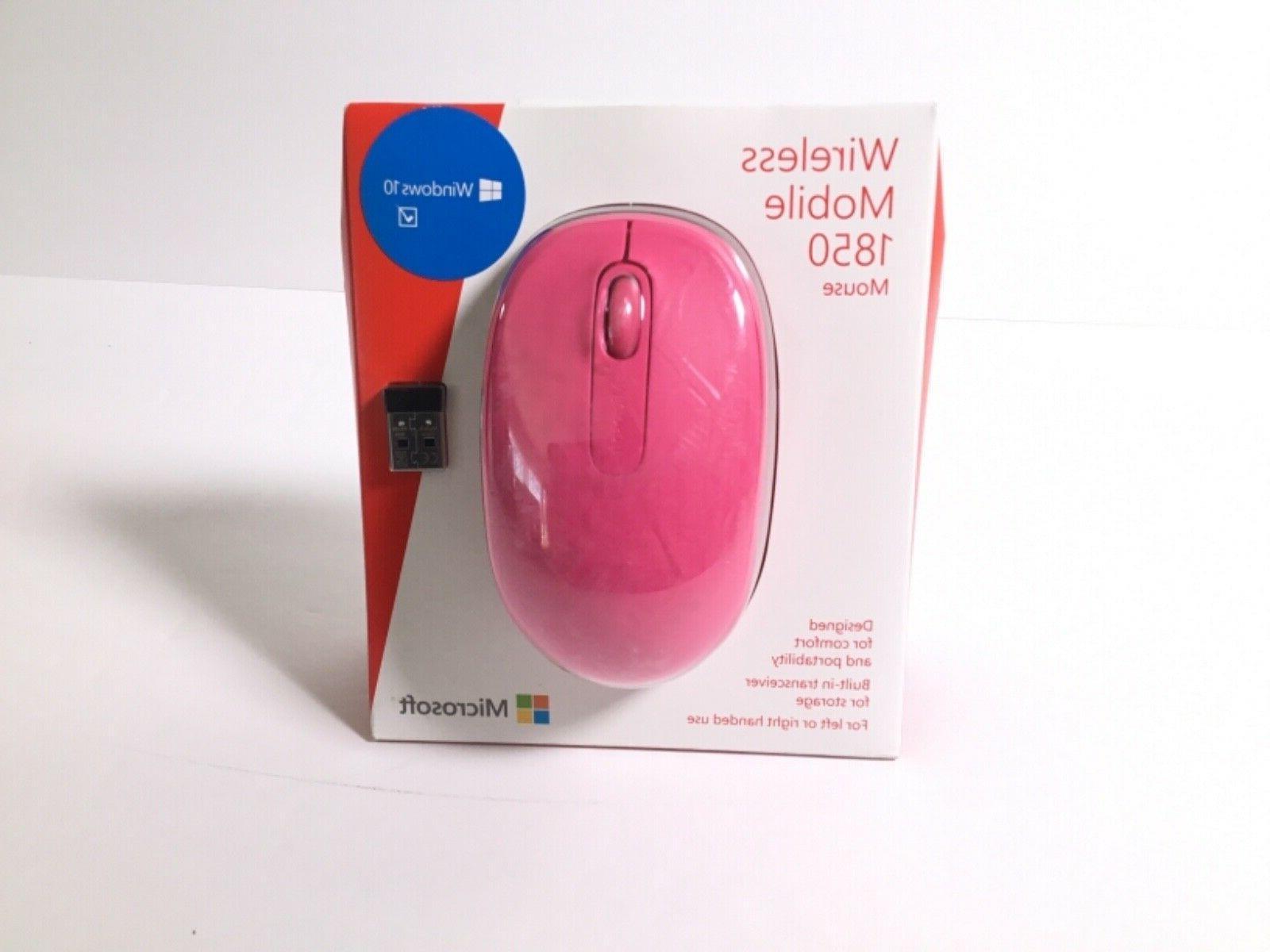 Microsoft Mobile1850 Cordless Receiver Mice