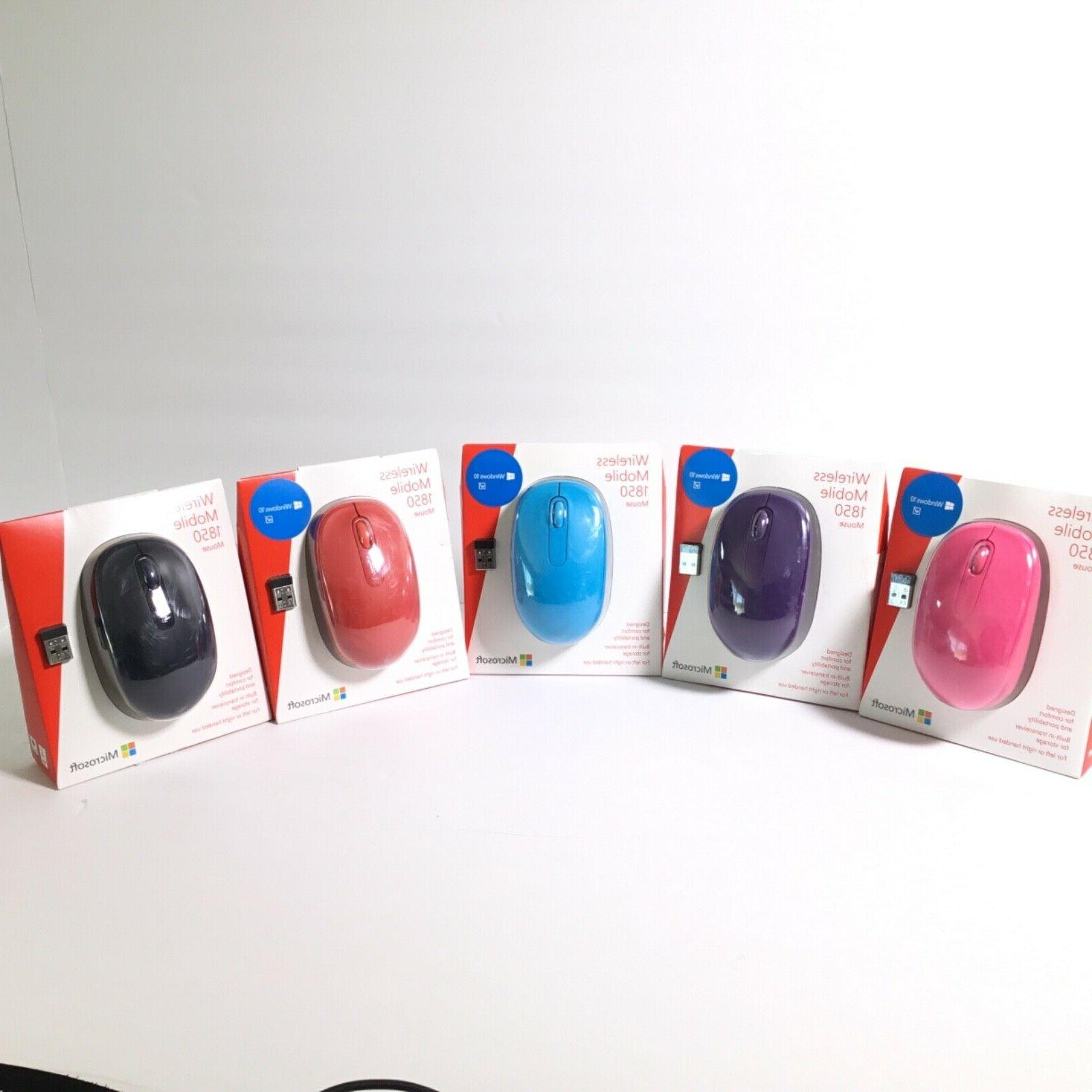 Microsoft Wireless Mobile1850 Cordless Mice For PC