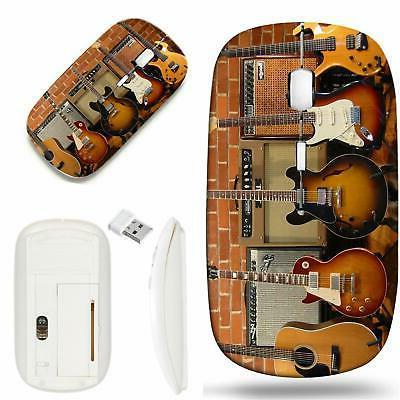 wireless mouse 2 4g white base travel