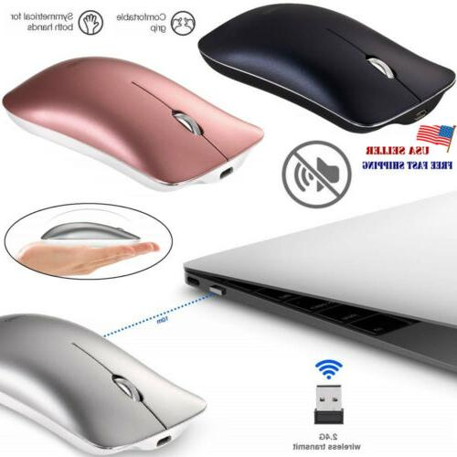 wireless mouse 2 4ghz rechargeable optical mice