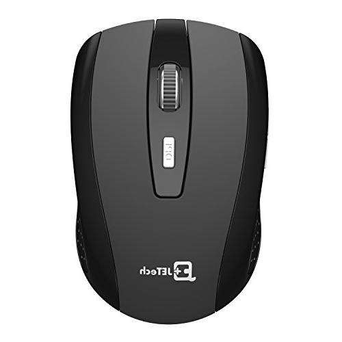 Wireless JETech® 2.4Ghz Wireless Mobile Mouse Buttons, 3 Wireless