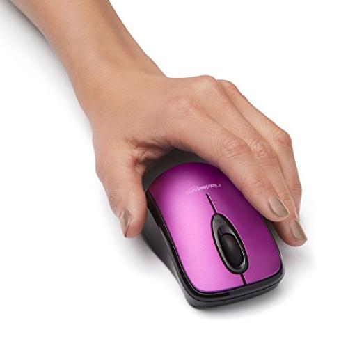 AmazonBasics Mouse Nano Purple