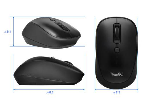 Rosewill Wireless Mouse, Computer Mouse, Compact Adjustable DPI