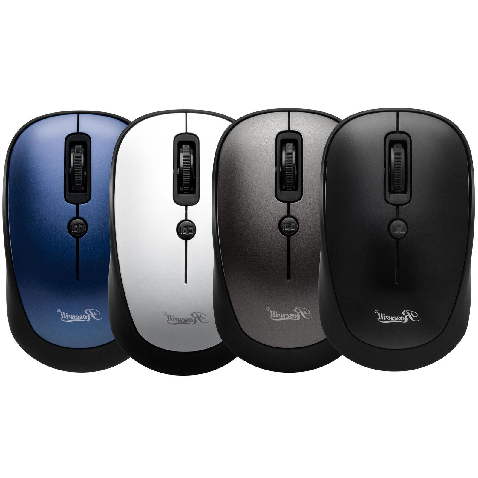 wireless mouse optical computer mouse compact size