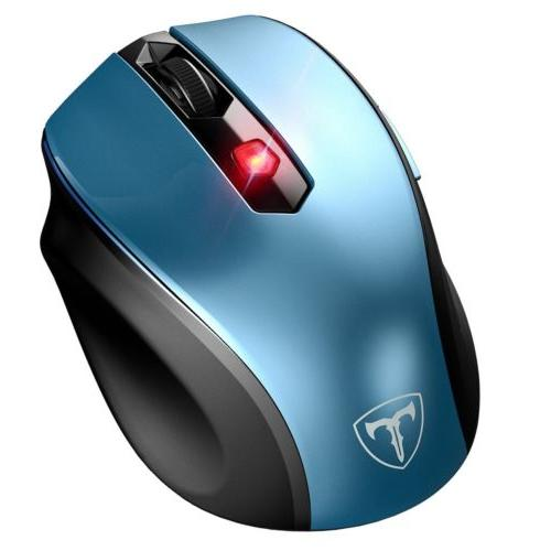 VicTsing Wireless Optical Mouse for Laptop Win10/8/7