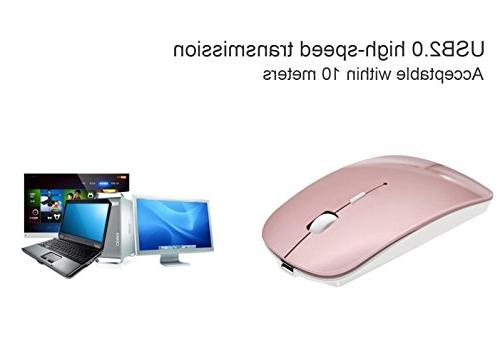 Tsmine Rechargeable Wireless with Nano for Notebook, PC, Laptop, Computer,