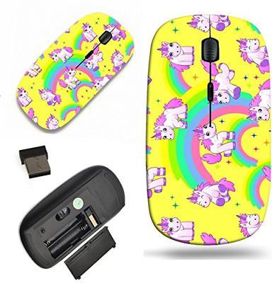 MSD Wireless Mouse Travel 2.4G Wireless Mice with USB Receiv