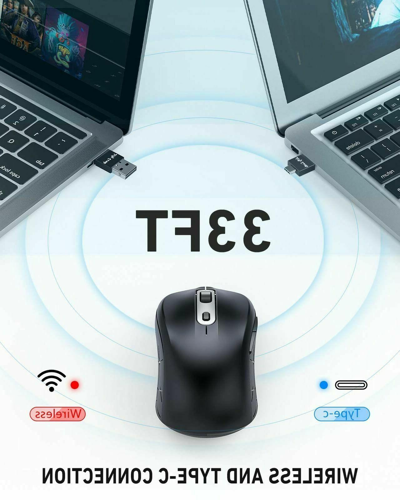 Wireless Type Wireless Computer Mouse