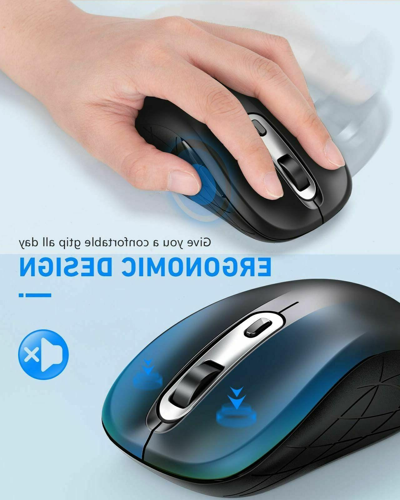 Wireless Type 2.4G Computer Silent