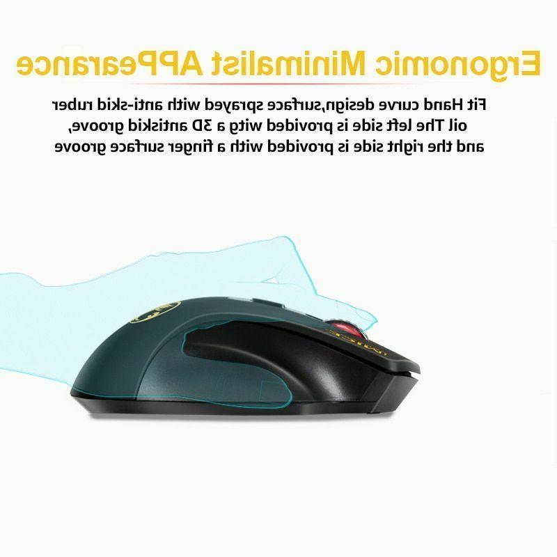 Wireless Adjustable 2.4GHz Ergonomic Mice