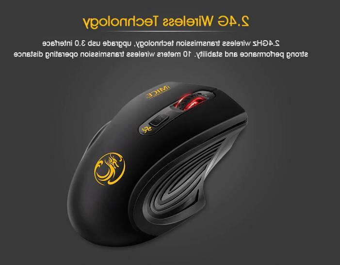 Wireless 2000DPI Adjustable USB 3.0 2.4GHz Mice