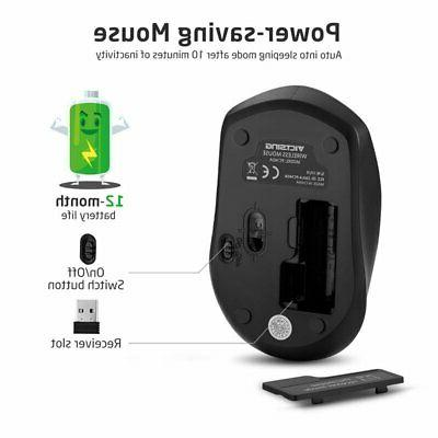 Wireless Mouse DPI Cordless Receiver