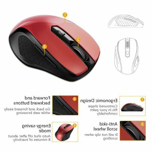 VicTsing Mouse Mice 6 for PC Mac